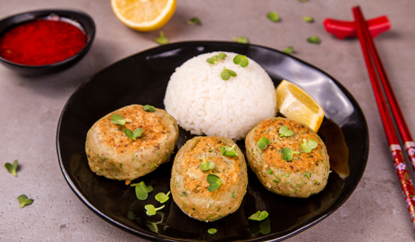 Asian-Style Fish Cakes