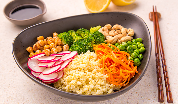 Asian Salad with Millet