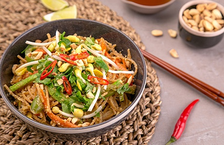 Pad Thai with Vegetables