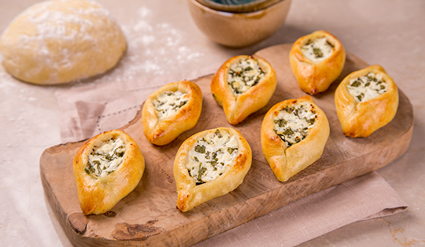 Eastern pasty with Feta cheese