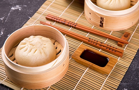 Baozi (Chinese steam rolls)